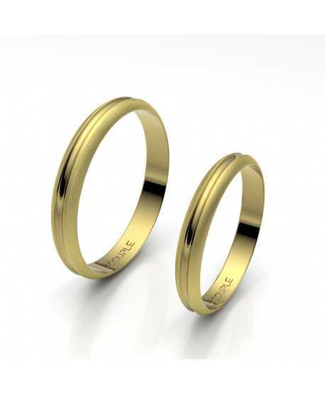 Alianza Trend Oro 18K Amarillo de 3mm
