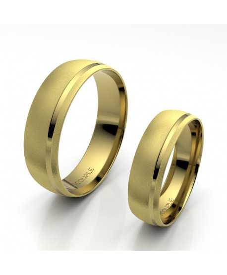 Alianza Trend Oro Amarillo de 5,5mm