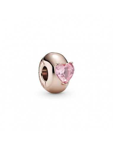 Clip en Pandora Rose Corazón...