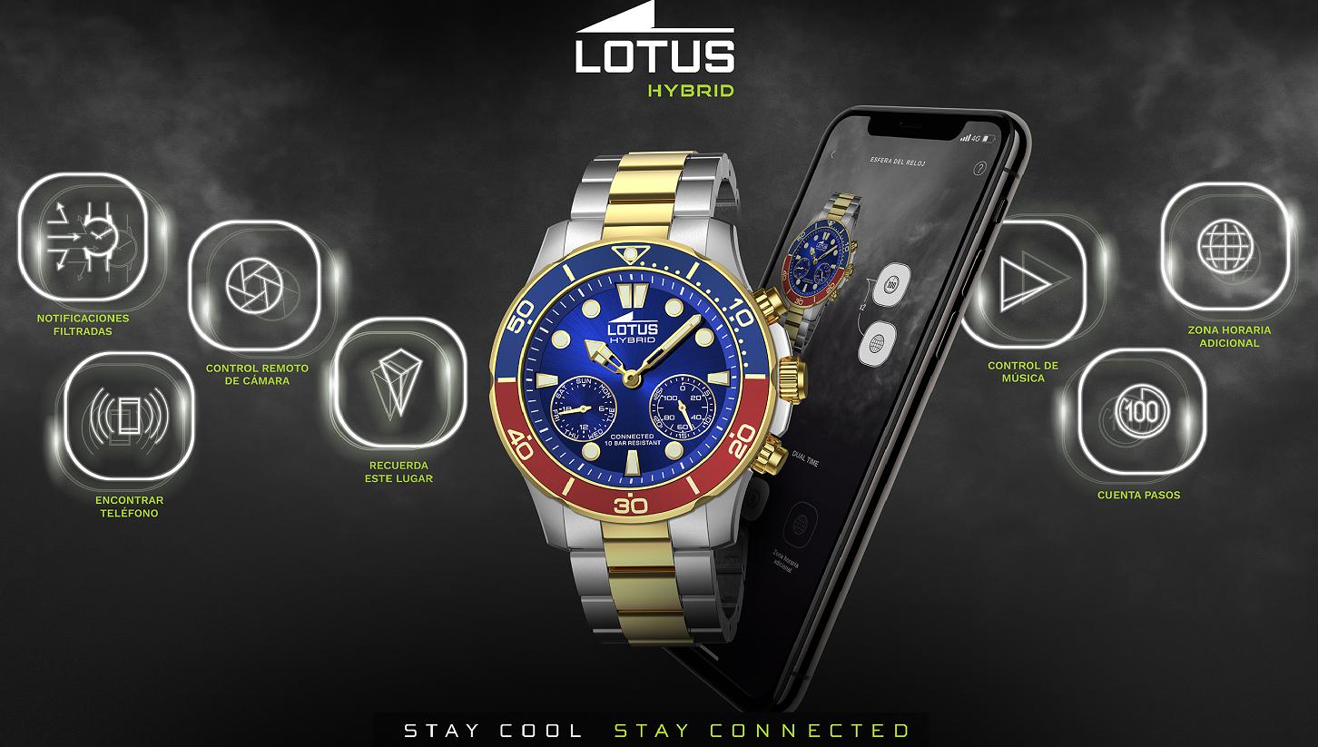 Reloj lotus híbrido